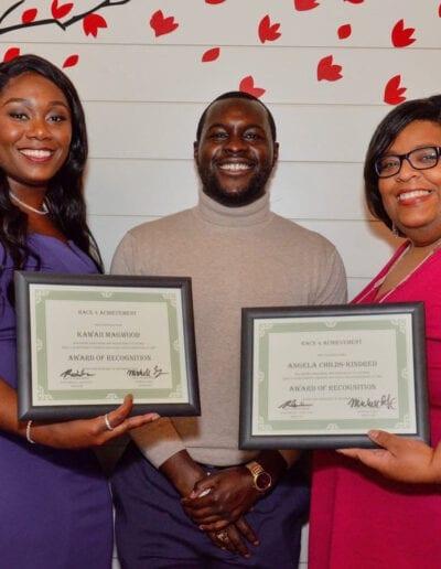 Race 4 Achievement event award recipients