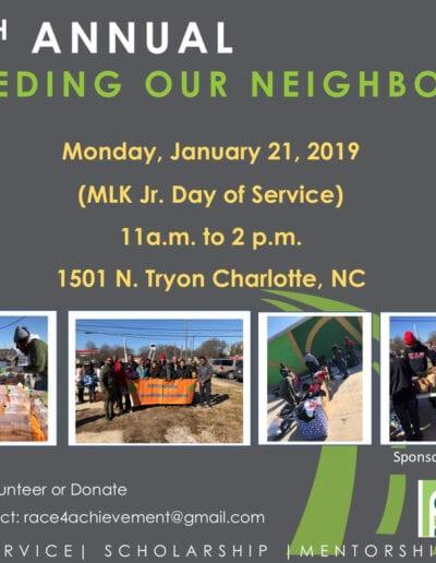 4th annual feeding our neighbors flyer