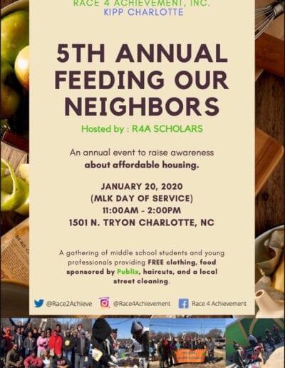 5th annual feeding our neighbors Flyer