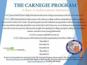 Carnegie program flyer