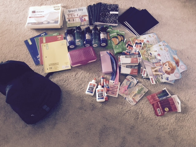 Kids first book bag drive donations