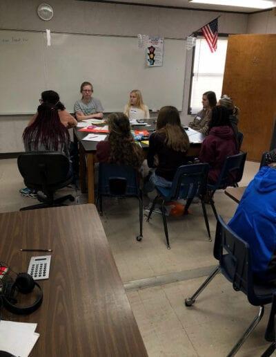 Scholarship classroom