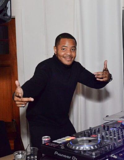 DJ at Race for Achievement event