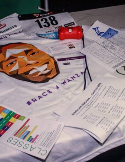 Race4Wanza t-shirt