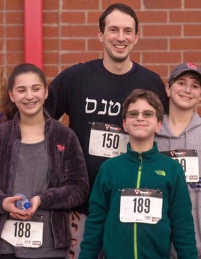 Race4Wanza race participants