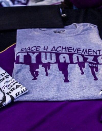 Race4Wanza merchandise