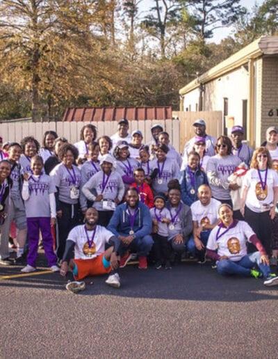 Race4Wanza Volunteer Group Photo