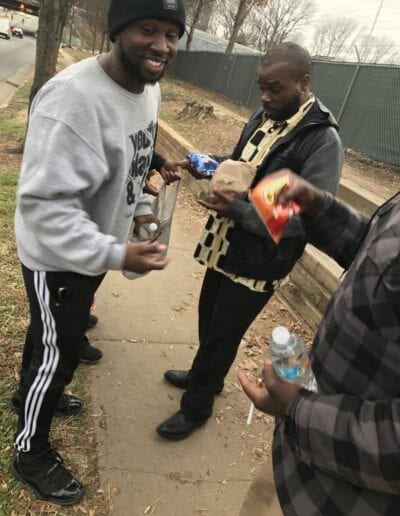 Martin Luther King day food drive