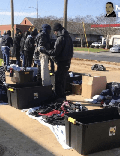 Martin Luther King day donation drive