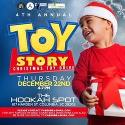 Toy story flyer to 2016 toy drive